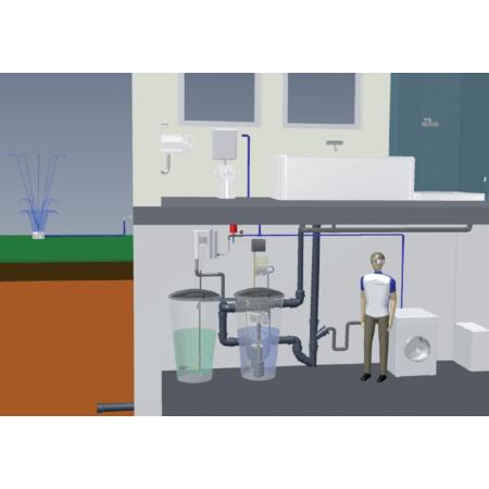 aqualoop duschen mit regenwasser. Black Bedroom Furniture Sets. Home Design Ideas
